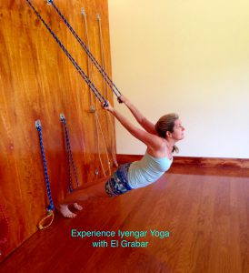 Experiencing Iyengar Yoga